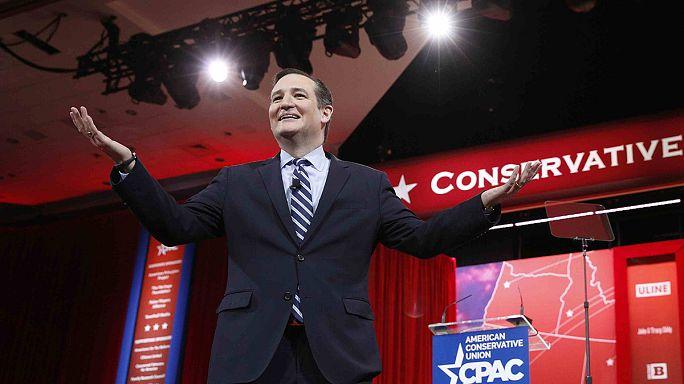 """USA : objectif """"présidentielle 2016"""" pour le républicain Ted Cruz"""
