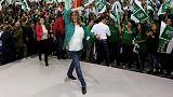 Elecciones Andalucía: PSOE lograría entre 41 y 44 escaños, según sondeo a pie de urna