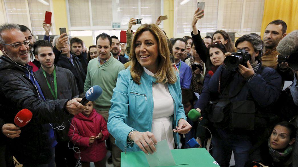 Elecciones Andalucía: el PSOE gana con 47 escaños, el PP se hunde, Podemos tercera fuerza política