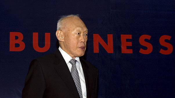 Father of modern Singapore Lee Kuan Yew dies aged 91