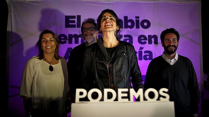 Rajoy'un partisi Endülüs'te hezimete uğradı
