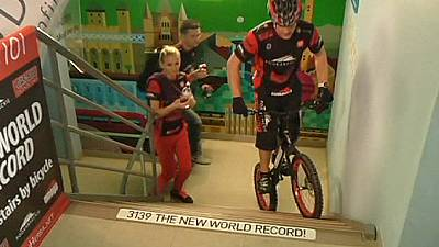 Record-breaking cyclist steps up to the plate – nocomment