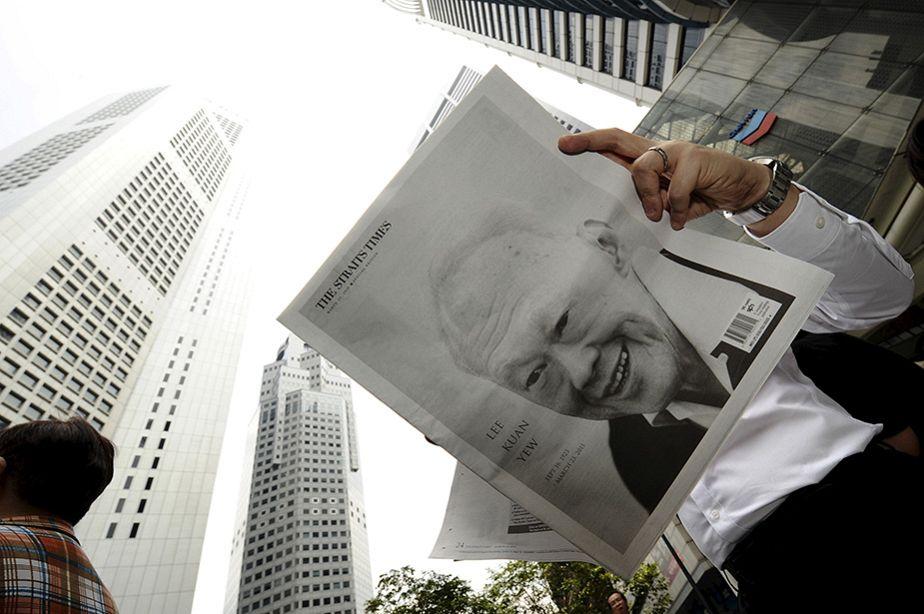 Mort du père fondateur de Singapour Lee Kuan Yew