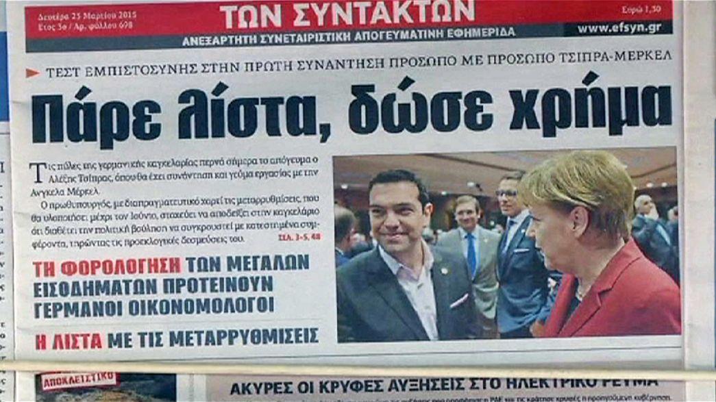 Tsipras kommt zu Besuch: Entspannung im deutsch-griechischen Verhältnis