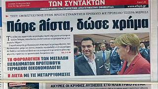 Tsipras em Berlim: uma visita de cortesia para dissipar tensões com Merkel
