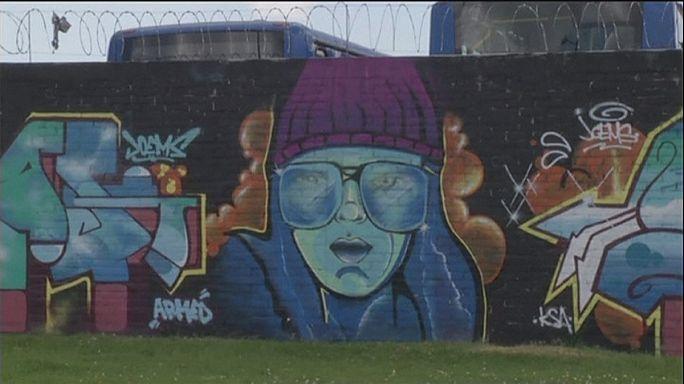 Graffiti art makes a splash in Bogotá
