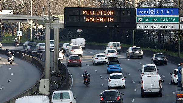 Circulación alterna en París para luchar contra la contaminación