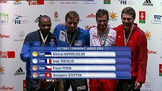 Николай Новоселов и Шин А Лам победили на этапе Гран-при по фехтованию в Будапеште