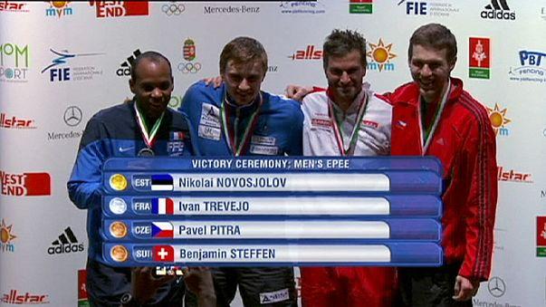 الجائزة الكبرى للمبارزة( بودابست): تتويج الإستوني نوفوسولوف والكورية شين