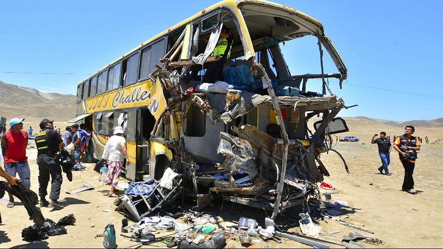 Pérou : au moins 37 morts dans un accident de la route
