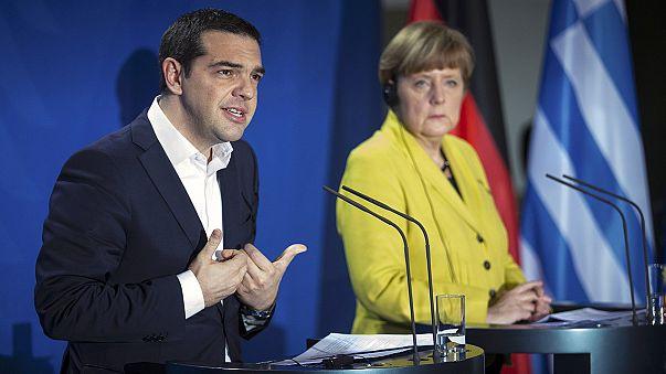 Встреча в Берлине: Германия ждет реформ, Афины - финансовой помощи