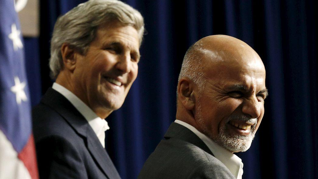 Estados Unidos renueva su alianza con Kabul