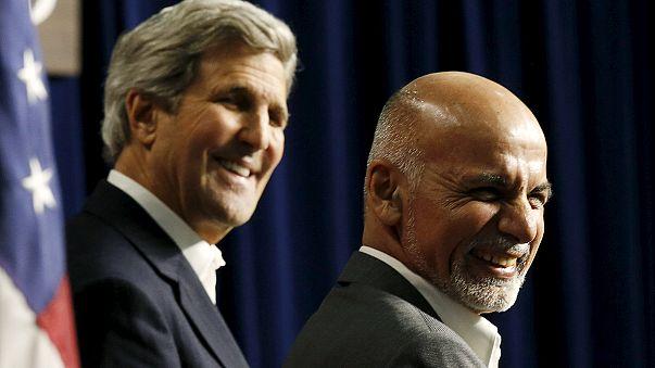 USA sichert Afghanistan weitere Unterstützung zu - Verlangsamter Truppenabzug im Gespräch