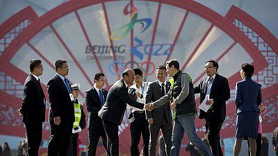 Miembros del COI visitan Pekín para su candidatura a los JJOO de 2022