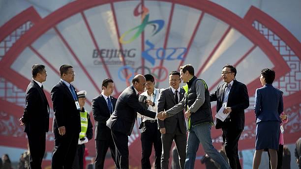 IOC commissioners begin inspections