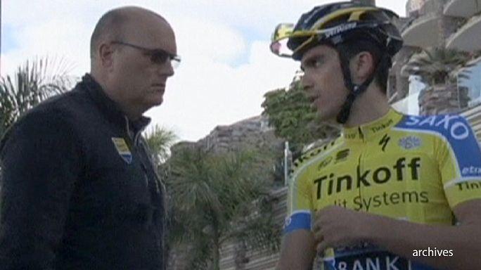 Tinkoff Saxo Fransa Bisiklet Turu şampiyonu Bjarne Riis'le bağlarını koparıyor mu ?