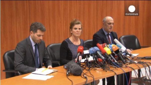 """Germanwings basın toplantısındaki """"esrarengiz"""" soru ve cevap"""