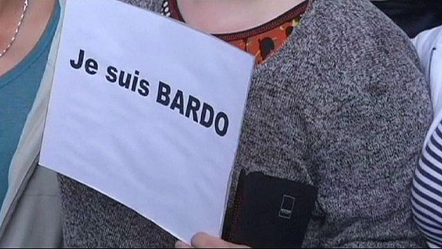 افتتاح رمزي لمتحف باردو في تونس ومظاهرات ضد الارهاب تجوب شوارع العاصمة