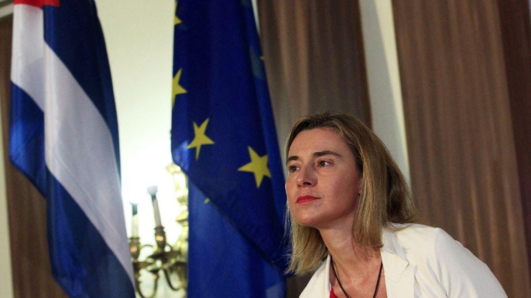 Bruxelas e Havana querem acordo de diálogo político e cooperação no final do ano