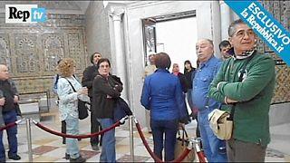 Vidéo amateur tournée lors de l'attentat dans le musée du Bardo