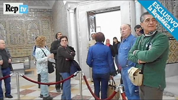 Tunus'taki Bardo Müzesine düzenlenen silahlı saldırı anı