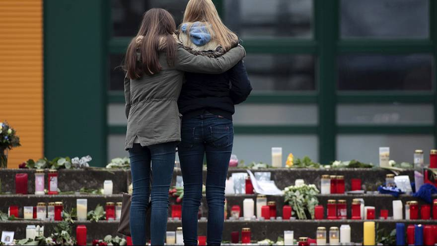 German school and town mourns students and teachers who died in air crash