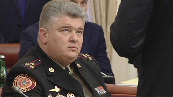 El jefe de los servicios de emergencia ucranianos, detenido en pleno consejo de ministros