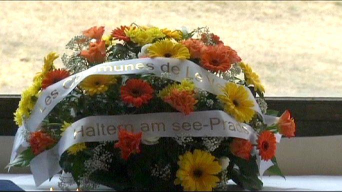 قرية لوفارينه الفرنسية تحتضن اقارب ضحايا حادث تحطم الطائرة الألمانية