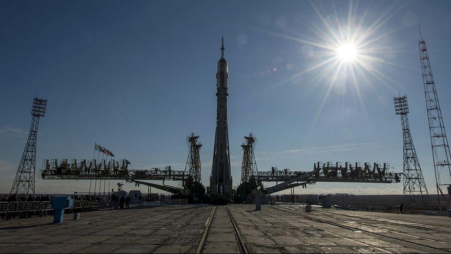 Cuenta atrás para el despegue de la nave espacial Soyuz TMA-16M