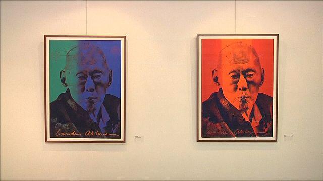 لودي أليباما فنانة تشكيلية لبنانية تخصص معرضا لرئيس وزراء سنغافورة السابق
