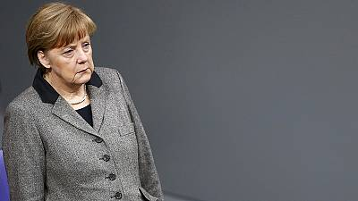 Merkel calls 'non-accidental' Germanwings crash 'a terrible burden'
