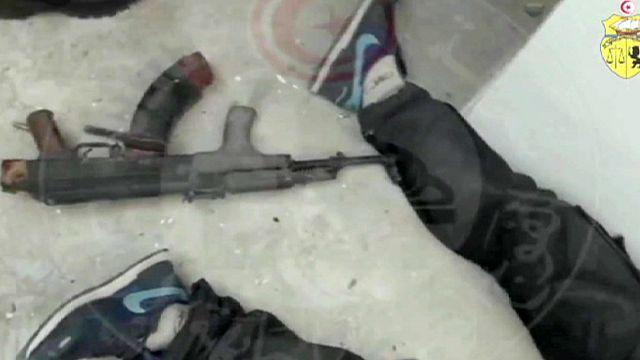 New video shows moment Tunisia's elite BAT squad confront Bardo Museum killers