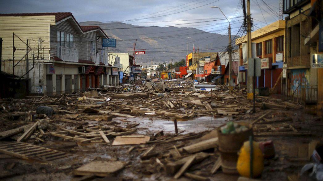 Al menos siete muertos en las inundaciones de la zona desértica del norte de Chile