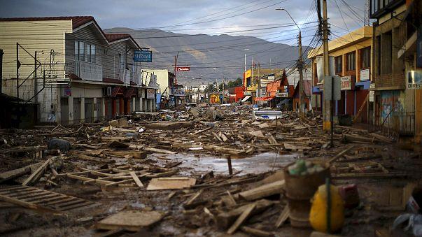 7 قتلى و19 مفقودا في فيضانات في شمال الشيلي