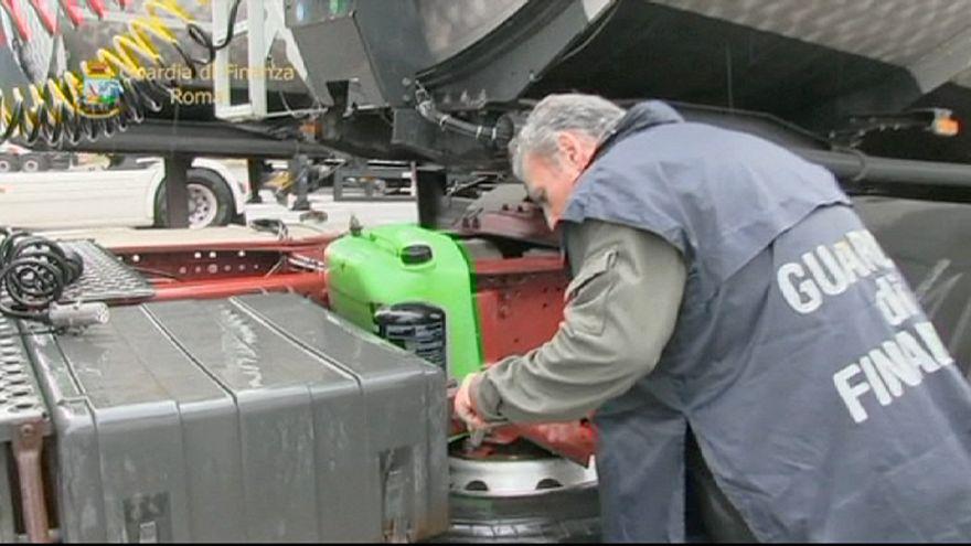 Itália: Desmantelada rede de tráfico de combustível