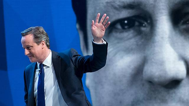 EU 'drives people mad' says British PM, but Miliband wants to stay