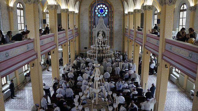 Türkiye'nin en büyük sinagogu Edirne'de açıldı