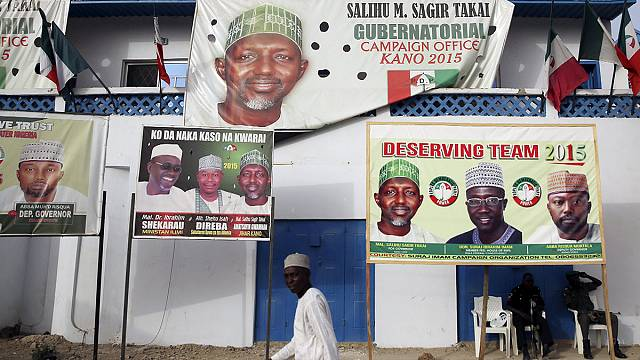 Security stepped up ahead of Nigerian presidential elections