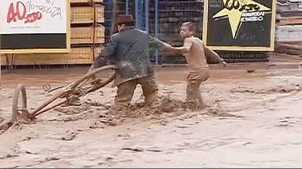 Caos in Cile dopo le inondazioni