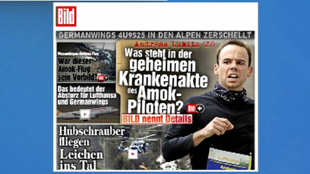 Una grave depresión obligó al copiloto de Germanwings a suspender su formación