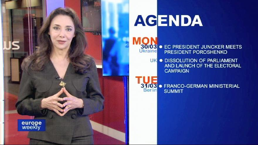 """""""Europe Weekly"""": queda de avião alemão e Grécia em destaque"""
