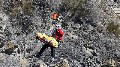 Germanwings: quarto dia de buscas na zona de impacto