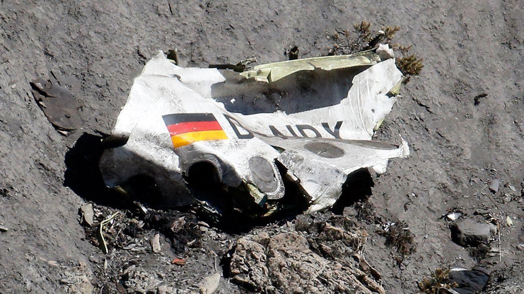 Crash Germanwings nas televisões europeias