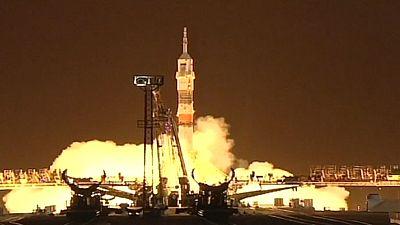 Takeoff! Russe und Amerikaner starten zu längster ISS-Mission
