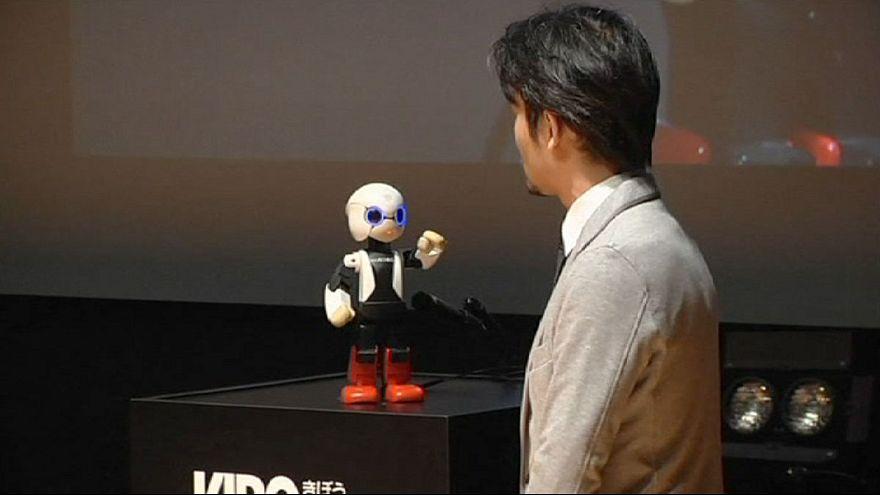 Kirobo, a robot