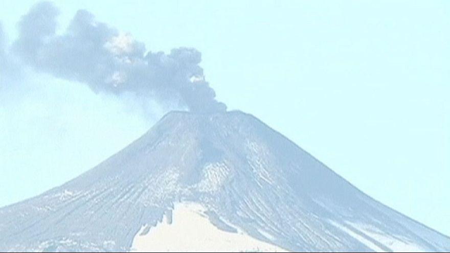 Vulcão no Chile ameaça povoações