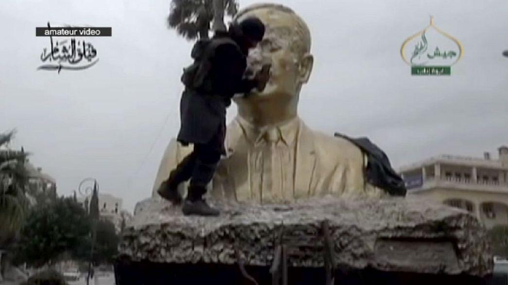 Syrische Islamisten-Milizen erobern Idlib