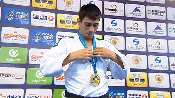 Judo: Hasan Vanlıoğlu Türkiye'ye gümüş madalya kazandırdı