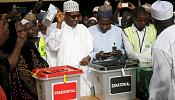 Nigeria election extends to a second day after technical issues