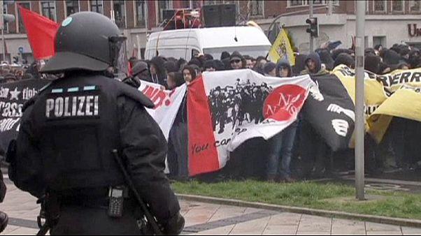 درگیری میان پلیس، راست های افراطی و چپگراها در دورتموند